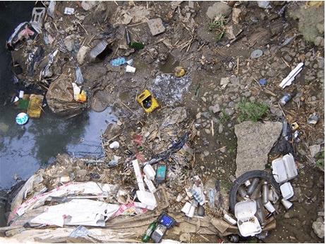 Contaminación en el Diego de Ocampo