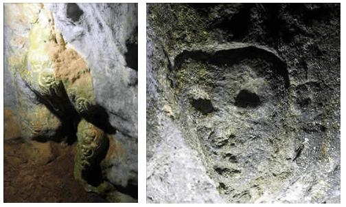 Petroglifos de la guacara de Comedero n°1
