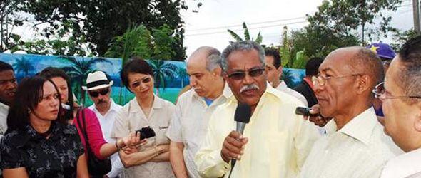 Queda eliminado el foco de contaminación por plomo en la comunidad Paraíso de Dios de Haina