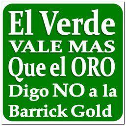 Un paso por Cotuí contra la Barrick Gold