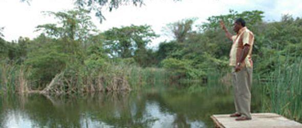 Medio Ambiente inicia sendero para construir parque ecologico en Laguna Prieta