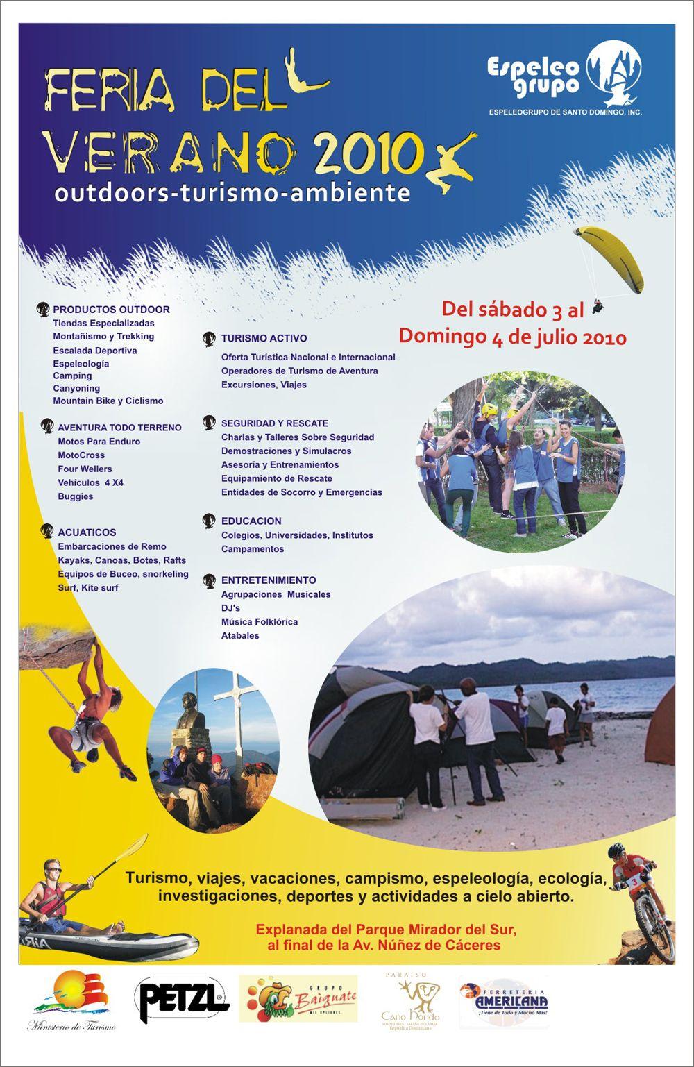 Feria del Verano, outdoors, turismo y ambiente