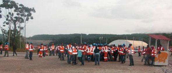 Barrick Gold cancela cientos de trabajadores en Cotuí