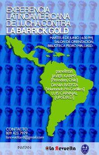 Experiencia Latinoamericana de lucha contra la Barrick Gold
