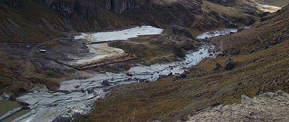 Otro desastre causado por la minería