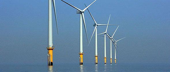 En medio del mar los vientos pueden generar el doble de energía que cerca de la costa.