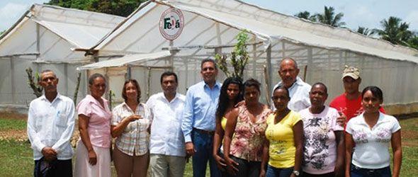 Inauguran invernadero en el área de amortiguamiento de los Haitises