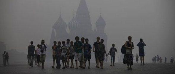Fuego Forestales en Rusia