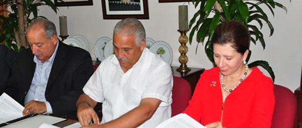 Instituciones firman acuerdo para reforestar la frontera