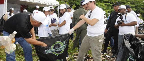 Ministerio Ambiente informa se recolectaron 8,790 bolsas de basura durante la limpieza de playas