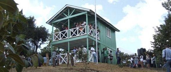 Apertura centro de control y vigilancia en el Parque Ecológico Las Caobas