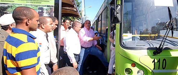 Inauguran la ruta Ecotour Santo Domingo Este