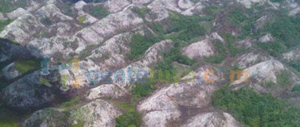 El parque Los Haitises casi convertido en un desierto