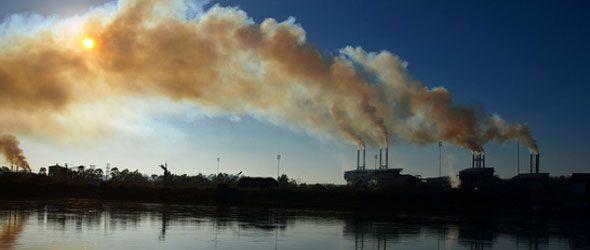 Emisiones de CO2 en la atmósfera marcaron récords en 2010