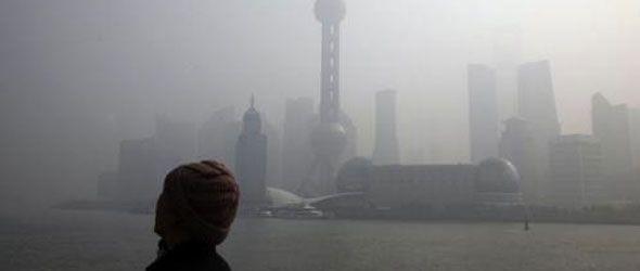 Shanghái alcanza su nivel máximo de contaminación en la historia