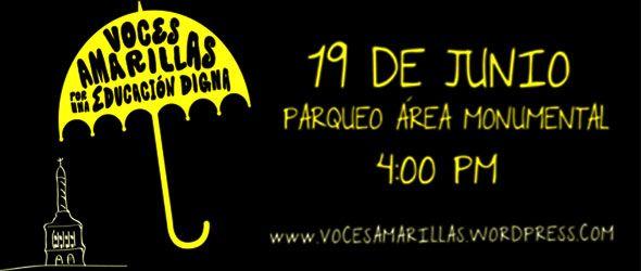 Santiago se vestirá de Amarillo con el concierto Voces Amarillas.