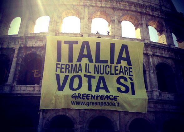 Italia: Referéndum decidirá futuro de la energía nuclear