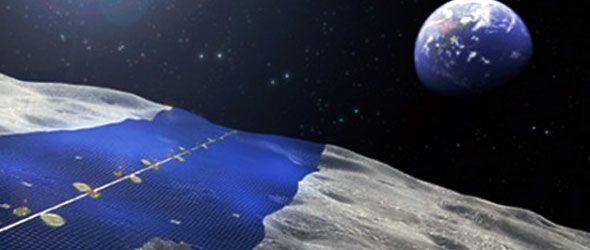 Paneles solares ¡hasta en la Luna!