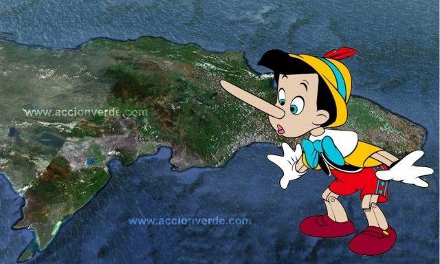Pinocho y el medio ambiente dominicano