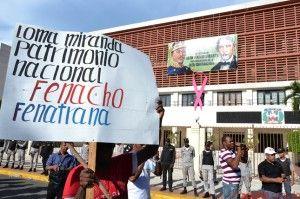 Protesta Loma Miranda.