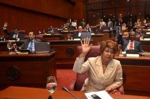 Senado lectura y aprobación de la Reforma Fiscal.