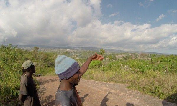 Haitianos agricultores