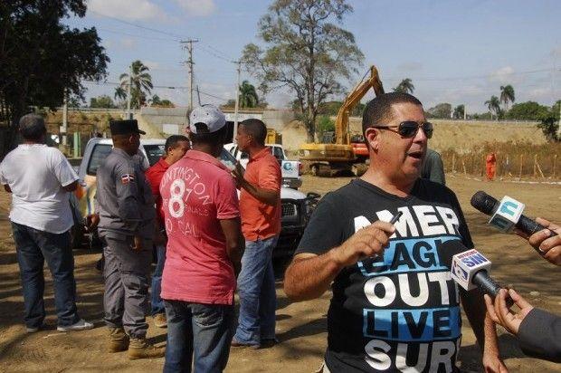 Vigilia contra explotación de minas en Jacagua