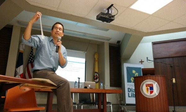 Bruno Takahashi, profesor de periodismo y comunicación ambiental de la Universidad Estatal de Michigan. DL/Marvin del Cid