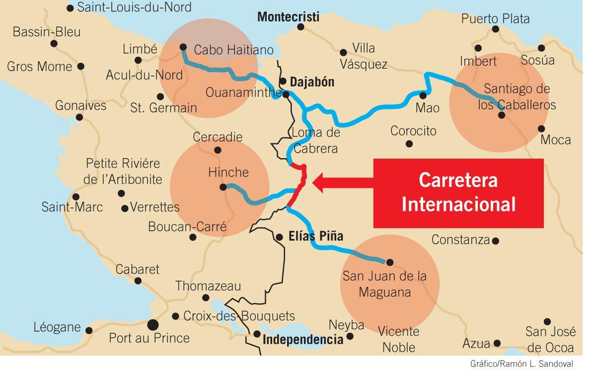 Mapa Carretera Internacional