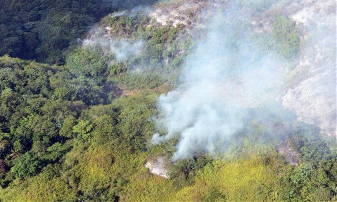 Incendios forestales continúan en Los Haitises