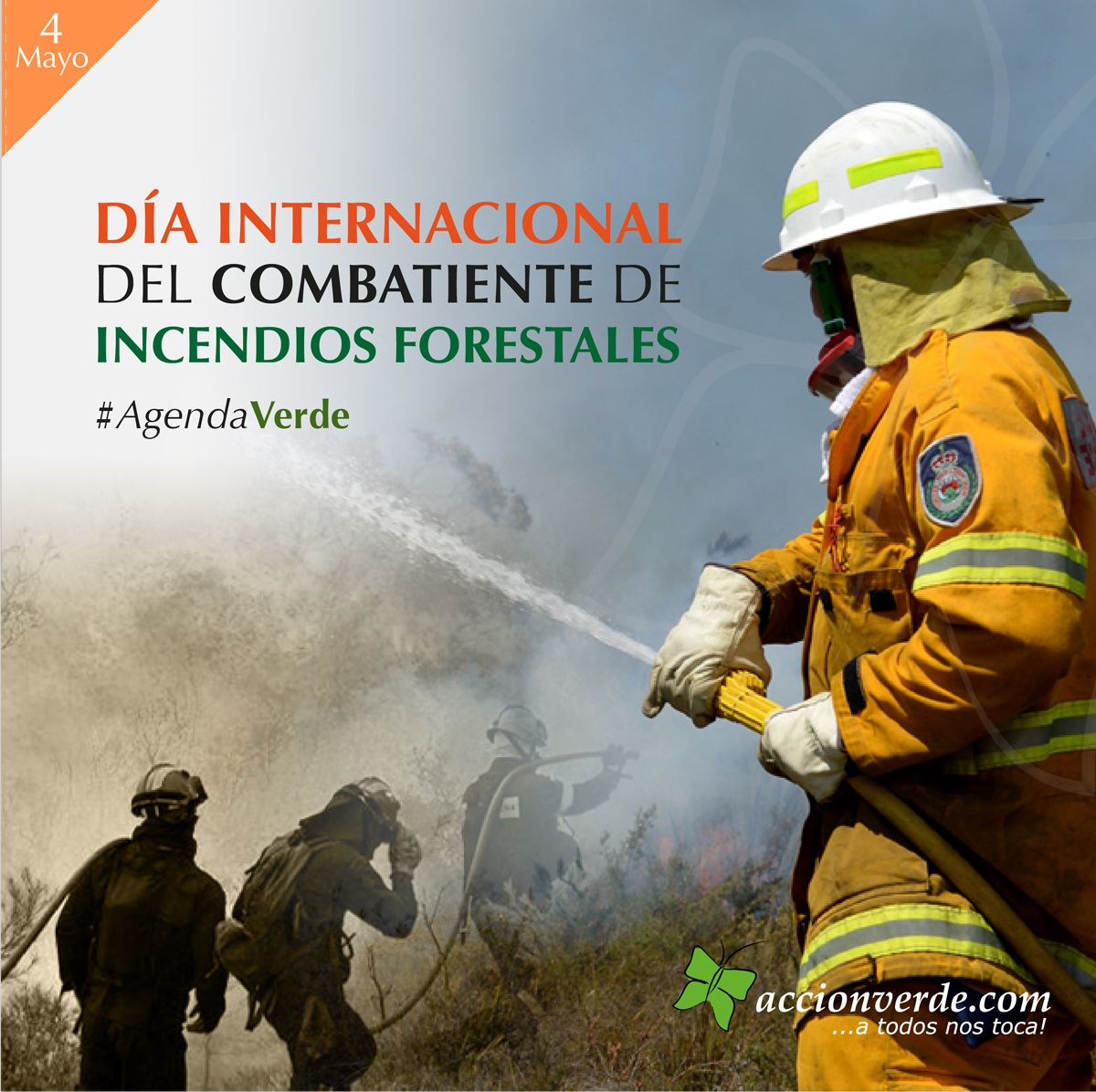 """Se reconoce el 4 de Mayo de cada año como """"Día Internacional del Combatiente Forestal"""""""