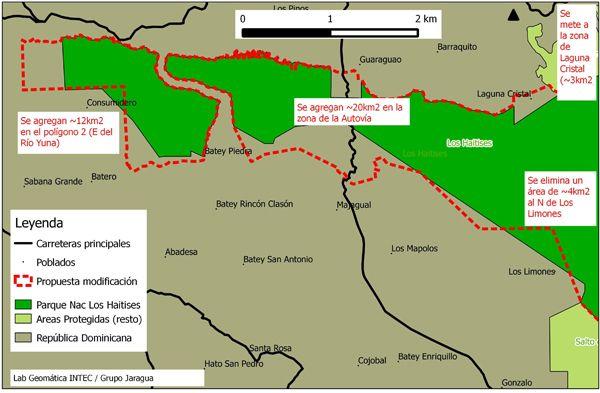 Ambientalistas expresan preocupación al Senado por modificación límites de Los Haitises