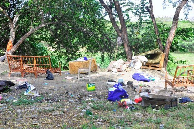 Adictos ocupan espacios en río Yaque del Norte