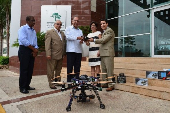 Medio Ambiente incorpora syn drones de alta generación para ampliar el sistema de vigilancia en parques y áreas protegidas del país