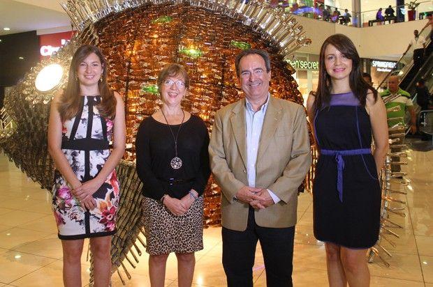 """En ocasión del Día Mundial del Reciclaje, Galería 360 desarrolló, del 14 al 17 de este mes, la tercera feria """"Recicla 360"""", en las instalaciones del Centro Comercial."""