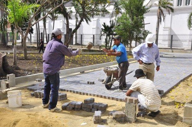 Esperan concluir trabajos del parque Duarte