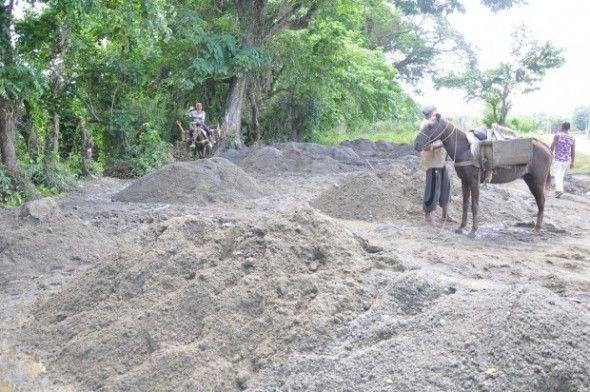 Advierten río Camú es amenazado por extracción materiales