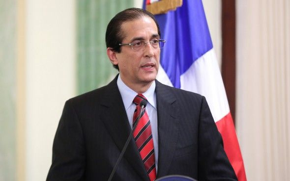 El ministro de la Presidencia, Gustavo Montalvo