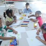 Niños plasman ideas de protección al medio ambiente en concurso de pintura de la Procuraduría