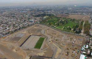 Proceso de transformación de un vertedero ilegal en el Parque André Jarlán de Chile.