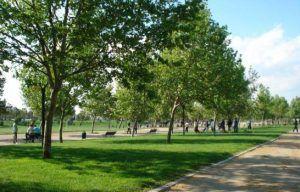 Parque André Jarlán de Chile.
