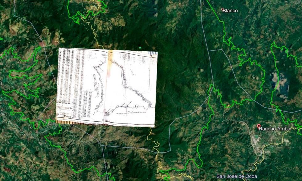 Mensura en favor de Explotación Maderera de Constanza. ( FUENTE EXTERNA)